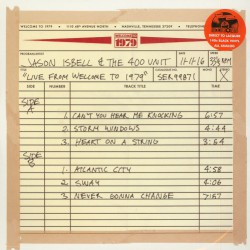 Jason Isbell And The 400 Unit - Live From Welcome To 1979 - LP