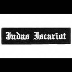 Judas Iscariot - Logo - EMBROIDERED PATCH