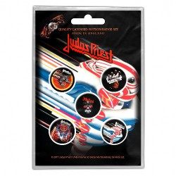 Judas Priest - Turbo - BUTTON BADGE SET