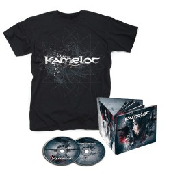 Kamelot - Haven - 2CD DIGIBOOK + T-shirt bundle (Men)