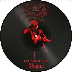 King Diamond - Abigail In Concert 1987 - LP PICTURE