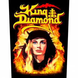 King Diamond - Fatal Portrait - BACKPATCH