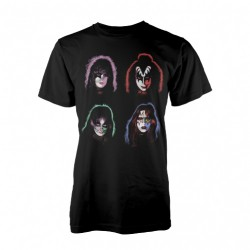 Kiss - Faces - T-shirt (Men)