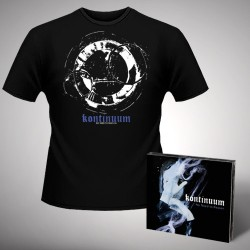 Kontinuum - No Need To Reason - CD DIGIPAK + T-shirt bundle (Men)