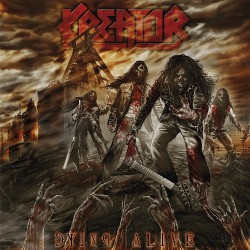 Kreator - Dying Alive - DOUBLE LP GATEFOLD COLOURED