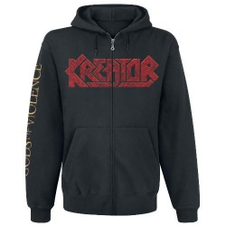 Kreator - Gods Of Violence - Hooded Sweat Shirt Zip (Men)