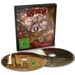 Kreator - Gods Of Violence [LTD edition] - CD + DVD digibook