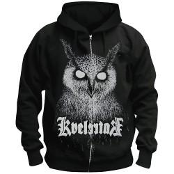 Kvelertak - Barlett Owl - Hooded Sweat Shirt Zip (Men)