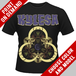 Kylesa - Ultraviolet (Black) - Print on demand