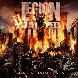 Legion Of The Damned - Descent into chaos - CD