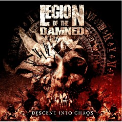 Legion Of The Damned - Descent into chaos - CD + DVD digibook