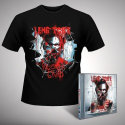 Leng Tch'e - Razorgrind - CD + T-shirt bundle (Men)