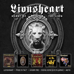Lionsheart - Heart Of The Lion - 5CD BOX