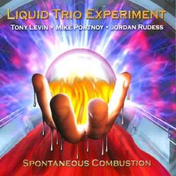 Liquid Trio Experiment - Spontaneous Combustion - CD DIGIPAK