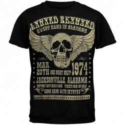 Lynyrd Skynyrd - Alabama 74 - T-shirt (Men)
