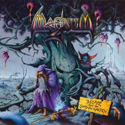 Magnum - Escape From The Shadow Garden - DOUBLE LP GATEFOLD COLOURED + CD