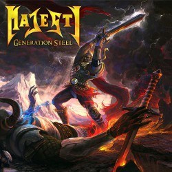 Majesty - Generation Steel - CD
