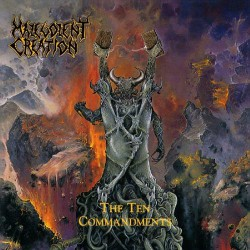 Malevolent Creation - The Ten Commandments - CD DIGIPAK