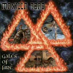 Manilla Road - Gates Of Fire - CD
