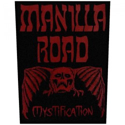 Manilla Road - Mystification - BACKPATCH