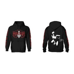 Marduk - Fuck Me Jesus (Black) - Hooded Sweat Shirt (Men)