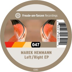 Marek Hemmann - Left / Right EP - Mini LP