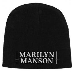 Marilyn Manson - Logo - Beanie Hat