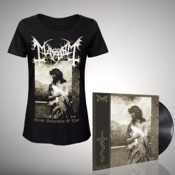 Mayhem - Bundle 4 - LP gatefold + T-shirt bundle (Women)
