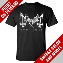 Mayhem - Esoteric Warfare [back) - Print on demand