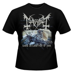Mayhem - Grand Declaration Of War 2018 - T-shirt (Men)