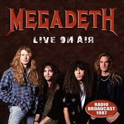Megadeth - Live On Air - CD