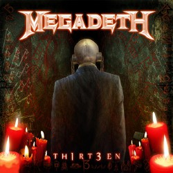 Megadeth - Th1rt3en - DOUBLE LP Gatefold