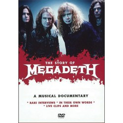 Megadeth - The Story Of - One Step Closer - DVD