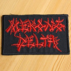 Mekong Delta - Red Logo - EMBROIDERED PATCH