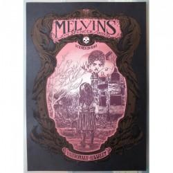 Melvins - Jon Spencer - Shitkid - Patronaat Haarlem - Silkscreen