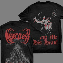 Mercyless - The Mother Of All Plagues - T-shirt (Men)