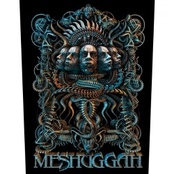 Meshuggah - 5 Faces - BACKPATCH