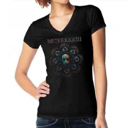 Meshuggah - Head Blade - T-shirt V-neck (Women)