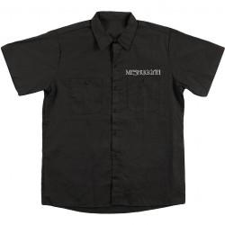 Meshuggah - Silver Logo - Silver Crest - Worker Shirt (Men)