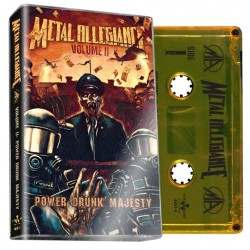 Metal Allegiance - Volume II: Power Drunk Majesty - CASSETTE COLOURED