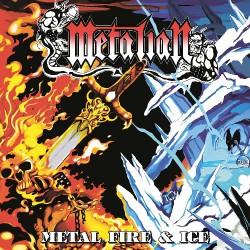 Metalian - Metal, Fire & Ice - LP COLOURED