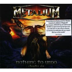 Metalium - Nothing to undo - Chapter Six - CD DIGIPAK