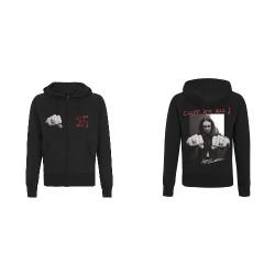Metallica - Cliff Burton Riffs - Hooded Sweat Shirt Zip (Men)