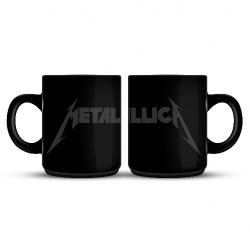 Metallica - Grey Logo - MUG