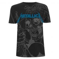 Metallica - Japanese Justice - T-shirt allover (Men)