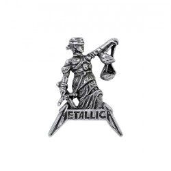 Metallica - Justice For All - METAL PIN