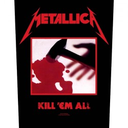 Metallica - Kill 'Em All - BACKPATCH