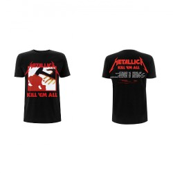Metallica - Kill 'Em All Tracks - T-shirt (Men)