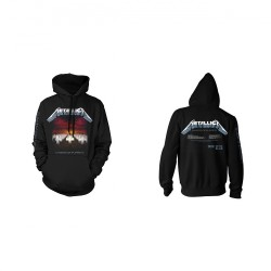 Metallica - Master Of Puppets Tracks - Hooded Sweat Shirt (Men)