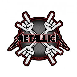 Metallica - Metal Horns - Patch